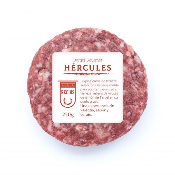 Carne de ternera rellena de jamón serrano
