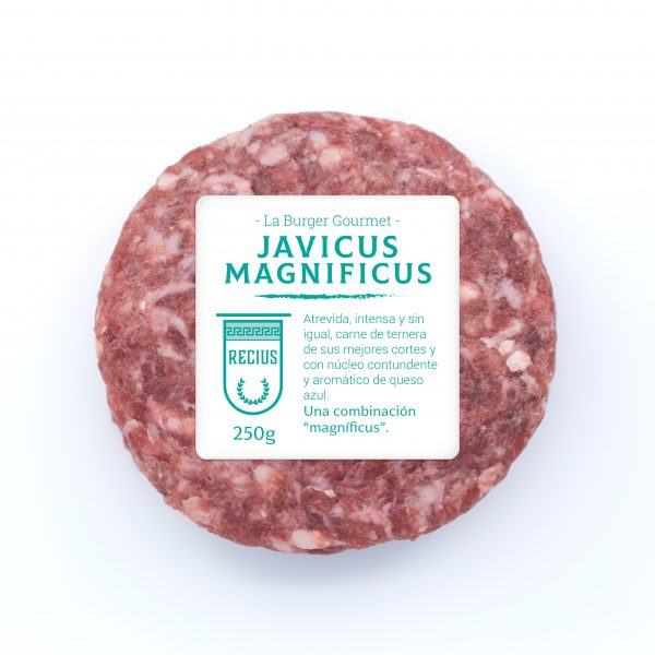 Carne de ternera rellena de queso azul