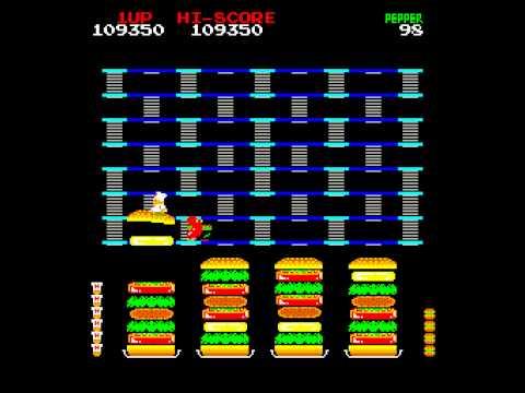 hamburguesas y videojuegos