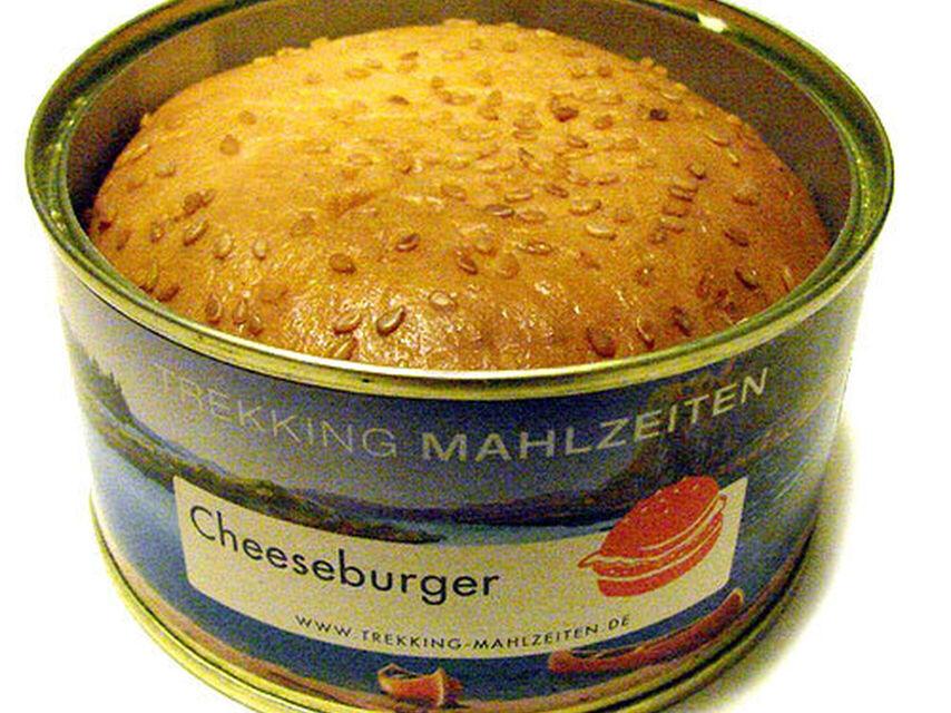 hamburguesa rara en lata