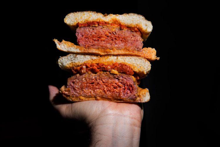 hamburguesa rellena chorizo